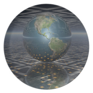 Earth Horizons Plate