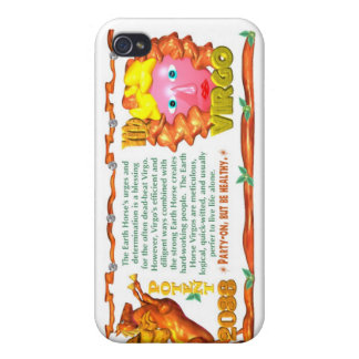 Earth Horse zodiac born in Virgo 1978 iPhone 4/4S Cover