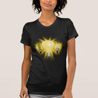 Earth Hour - 2u, Energy saver & Regular Bulb T Shirt