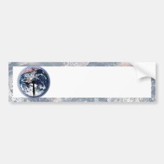 Earth Hour Clock 8 30pm Bumper Sticker