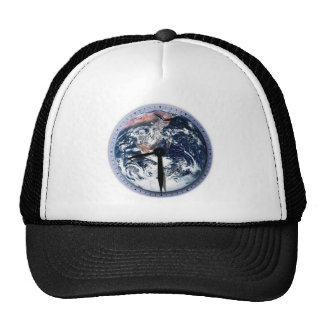 Earth Hour Clock 8:30pm Hat