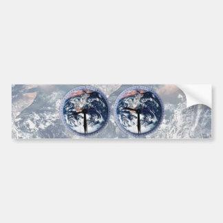 Earth Hour Clocks 830-930 Bumper Stickers