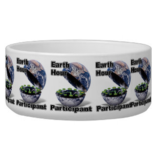 Earth Hour Participant Dog Food Bowls