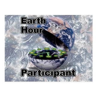 Earth Hour Participant Postcard