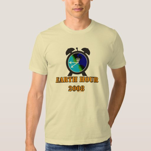 Earth hour t shirt zazzle for One hour t shirts
