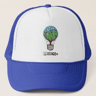 Earth Hour Trucker Hat