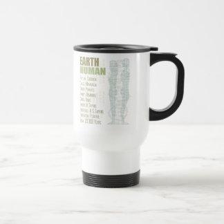 Earth Human 15 Oz Stainless Steel Travel Mug