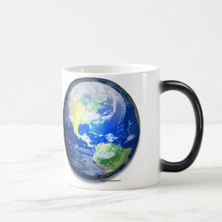 Earth Icon Morphing Mug