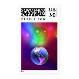 Earth Illusion Postage