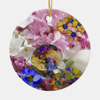Earth in a New life Ceramic Ornament
