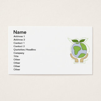 Earth In Our Hands T-shirts and Gifts Business Card