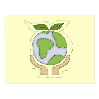 Earth in Our Hands T-shirts and Gifts Postcard