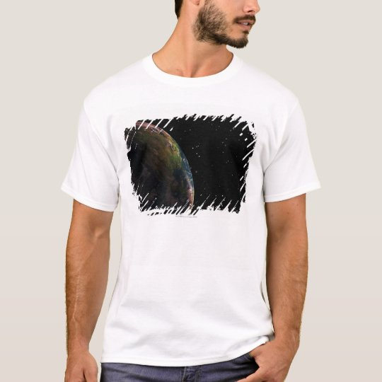 Earth in shadow in outer space T-Shirt
