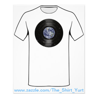 Earth In Space Vinyl LP Record Flyer