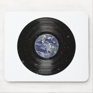 Earth In Space Vinyl LP Record Mouse Pad