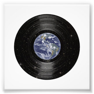 Earth In Space Vinyl LP Record Photograph