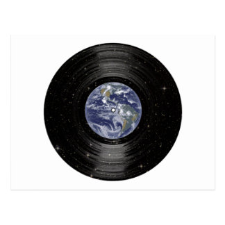 Earth In Space Vinyl LP Record Postcard