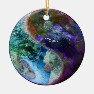 Earth in the Balance Christmas Tree Ornament