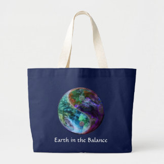 Earth in the Balance Tote Bag