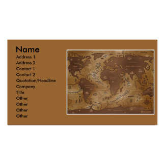 earth-inversed, Name, Address 1, Address 2, Con... Business Card Templates