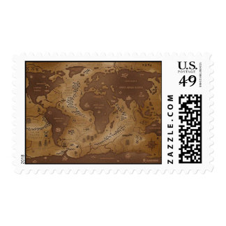 earth-inversed postage