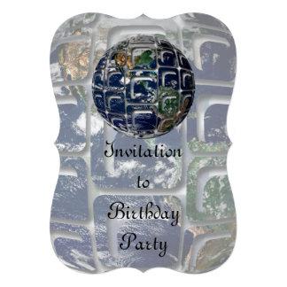 Earth Custom Invitations