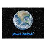 """Earth Invite 8.75"""" x 6.5"""""""