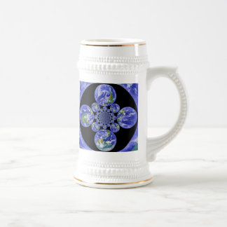 Earth is Home Beer Stein