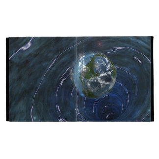 Earth Is In Trouble iPad Folio Cover