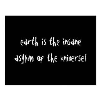 Earth Is Postcard