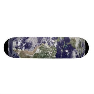Earth, Jesus Rules The World.. Skateboard Deck