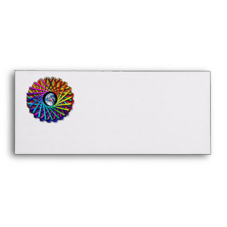 Earth Kaleidoscope View Circle Abstract Envelope