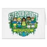 Earth Kids California Greeting Card