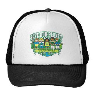 Earth Kids California Trucker Hat