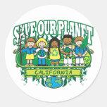 Earth Kids California Sticker