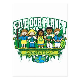 Earth Kids Connecticut Postcard