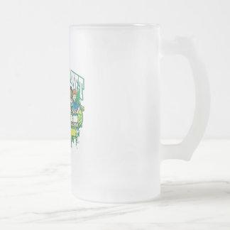 Earth Kids Hawaii Frosted Glass Beer Mug
