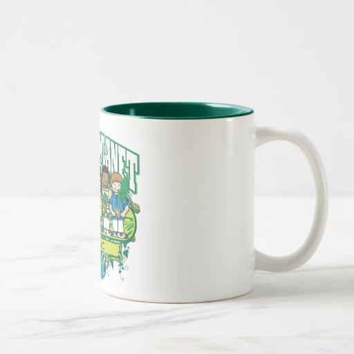 Earth Kids Hawaii Two-Tone Coffee Mug