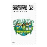 Earth Kids Illinois Stamp