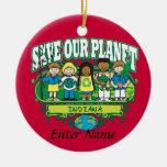Earth Kids Indiana Christmas Ornament