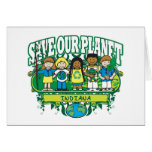 Earth Kids Indiana Greeting Cards