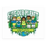 Earth Kids Kentucky Postcard