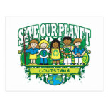 Earth Kids Louisiana Post Cards