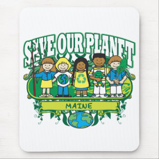 Earth Kids Maine Mouse Pad