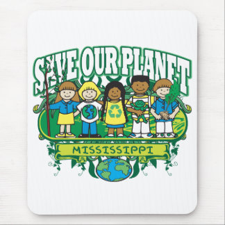 Earth Kids Mississippi Mouse Pad