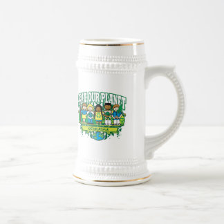 Earth Kids Nebraska Beer Stein