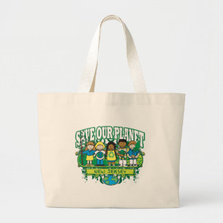 Earth Kids New Jersey Canvas Bags