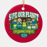 Earth Kids North Carolina Christmas Ornament