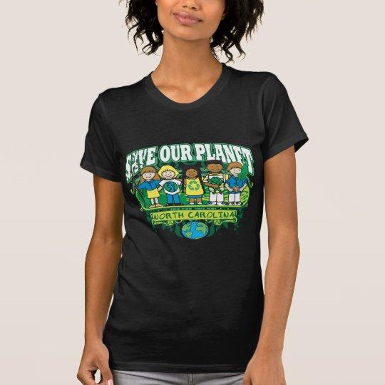 Earth Kids North Carolina T-Shirt
