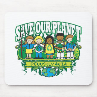 Earth Kids Pennsylvania Mouse Pad